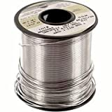 Kester 24-6337-8834 No-Clean Cored Wire Solder Roll, 63/37 Alloy, 0.02' Diameter