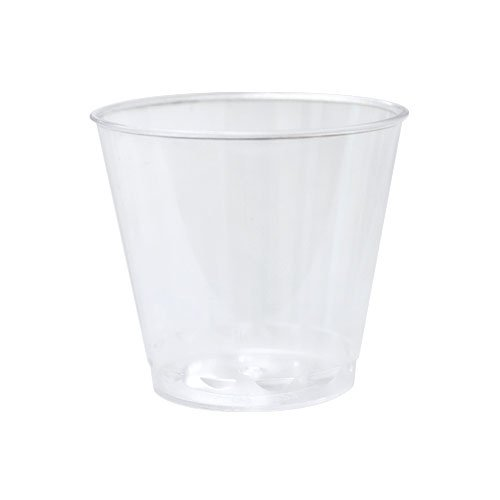 Party Dimensions 24 Count Plastic Shot Cup, 1-Ounce, Clear