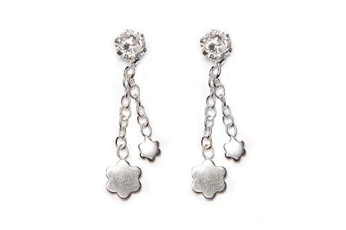 H. Gaventa Ltd - E - 11135 - Boucles d'Oreilles Pendantes Femme - Argent Sterling 1.2 Gr