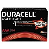 - Quantum Alkaline Batteries with Duralock Power Preserve Technology, AAA, 144/Ct