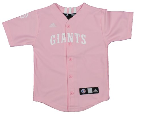 MLB San Francisco Giants Toddlers Pink Jersey By Adidas