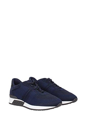 Tods Sneakers Uomo - Tessuto (XXM15A0S5801BJ) EU Blu