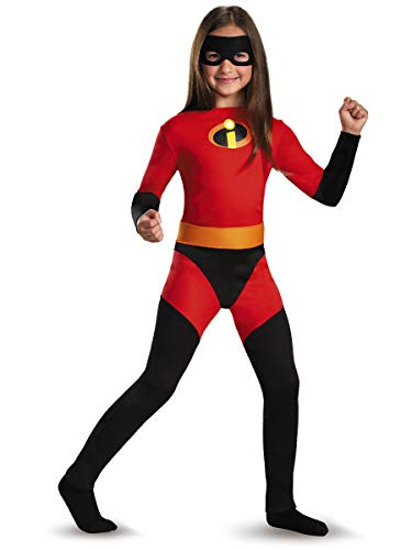Incredible 2 Girls Violet Costume with Metallic Logo and Belt (M) -