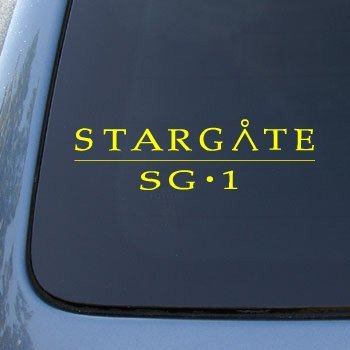 STARGATE SG1 - Vinyl Decal Sticker #A1373 | Vinyl Color: Yellow