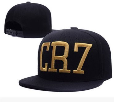 Cristiano Ronaldo CR7 Real Madrid Footbal Hat Soccer Baseball Snapback Caps(D)