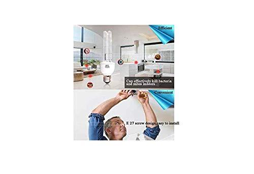 lampada a nido dape disinfezione E27 UV lampadina 15w // 25w disinfezione della lampada ,25W-Ozone UV-C ha portato disinfettante portatile Livello energetica A tasso antibatterico 100/%