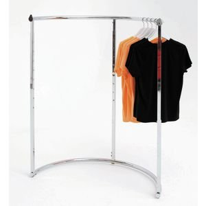 Round Garment Racks - Half Round Clothing Rack