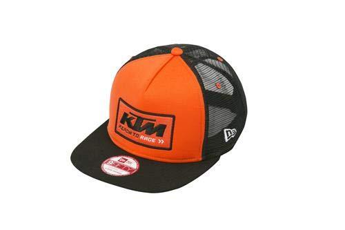 290755c06 ktm Men's Team Trucker Snapback Hat (Orange): Amazon.in: Clothing ...