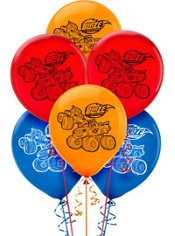 Blaze and the Monster Machines Latex Balloons (6ct) -