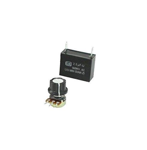 1PCS SS-22 20K Ohm Potentiometer 220V//240V Electric AC Motor Speed Controller UK