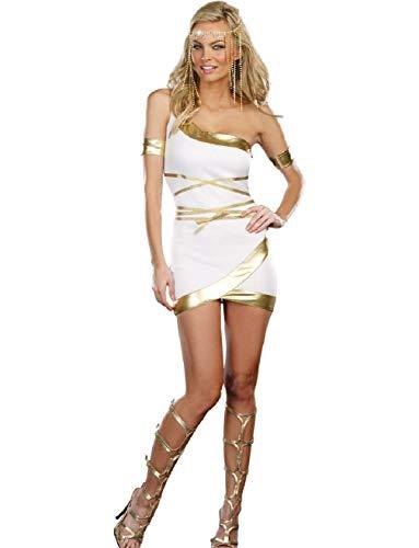 Women's Sexy Worship Me Greek Goddess Dress X-Large -
