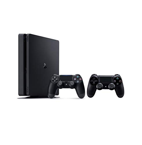 Sony PlayStation 4 500GB Console (Black) with Extra Controller - International Version