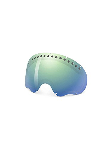 Oakley A Frame Goggle Replacement Lens Emerald Iridium, One Size