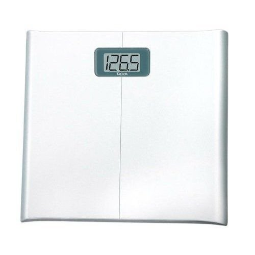(Taylor 7006 Lithium Electronic Digital Scale with 1-Inch LCD Display)