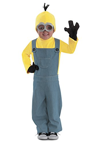 Princess Paradise Minions Kevin Child Jumpsuit Costume, Blue/Yellow, Medium -