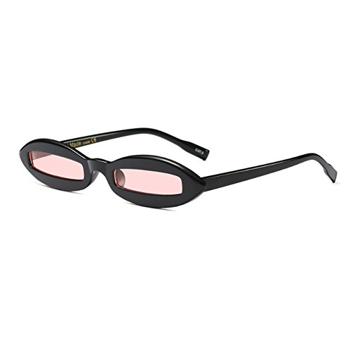 Brillante Eyewear de Polvo Small Yefree Frame Oval moda Negro Sunglasses Mujeres Diseñador Fashion Oval cORRgUwp6q