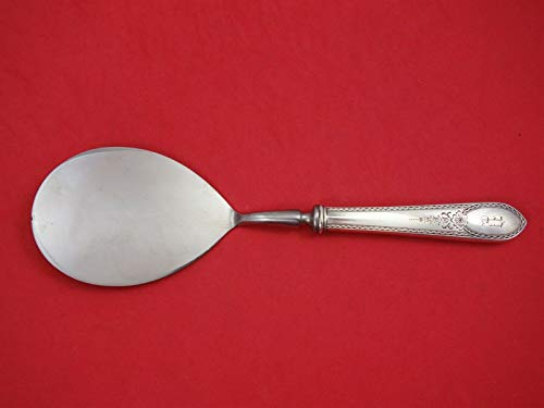 Early American Engraved by Lunt Sterling Silver Pastry Server HH WS Orig 9 1/4