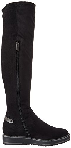 Comb Marco black Botas Tozzi 25600 Negro Mujer r0rYP