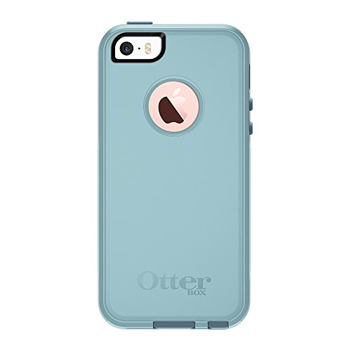 OtterBox COMMUTER SERIES for iPhone 5/5s/SE - Retail Packaging - BAHAMA WAY (BAHAMA BLUE/WHETSTONE BLUE) (Best Case For Iphone 5se)