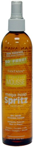 Fantasia Spritz Mega Hold Spray, 12 (Hydration Spritz)