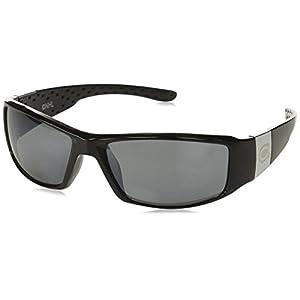 NHL Montreal Canadiens Adult Chrome Wrap Sunglasses, Black
