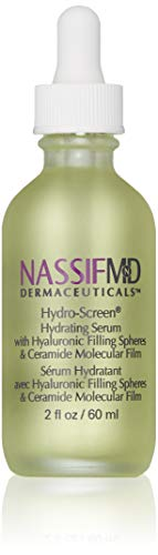NassifMD Hydro-Screen Hyaluronic Acid Serum – Anti Aging Serum For Face – Hydrating Serum with Ceramides & Sytenol A for…