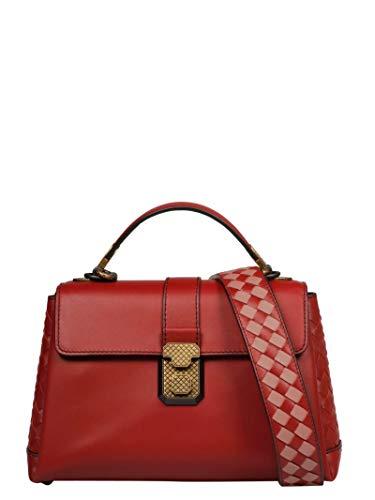 Bottega Veneta Women's 543212Valkg6459 Red Leather Shoulder Bag