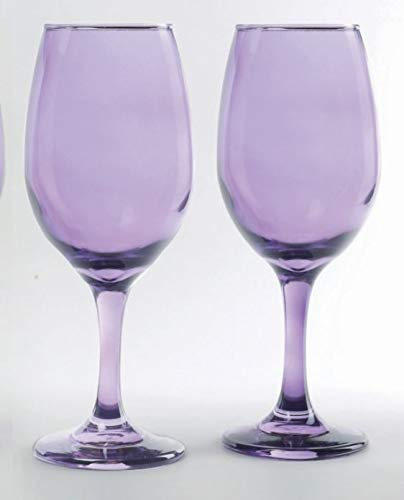 (Circleware Uptown Purple Wine Glass, Set of 4, 13)