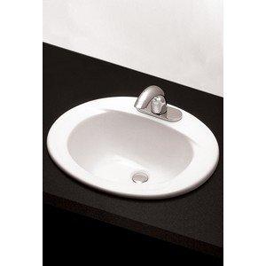 Toto LT501#03 20-Inch by 17-Inch Self Rimming Lavatory Sink, Bone