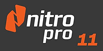 Nitro Pro 11 Full Retail Windows Software NitroPro 11 (2017 Edition) PDF Read / Editing