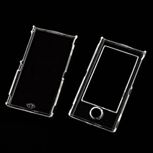 Crystal Clear Hard Plastic Protective Back Forth Case For iPod Nano 7