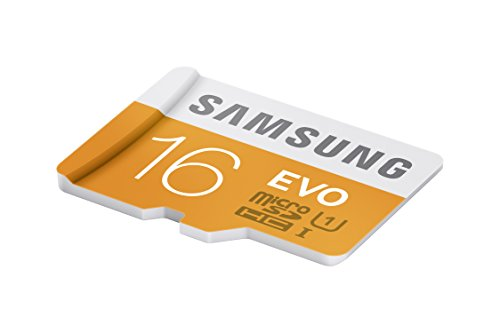 Samsung 16GB up to 48MB/s EVO Class 10 Micro SDHC Card with Adapter (MB-MP16DA/AM) 4 Capture faster Transfer faster A perfect partner