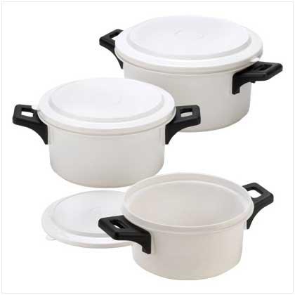 Malibu Creations 39951 Microwave Cooking Pots