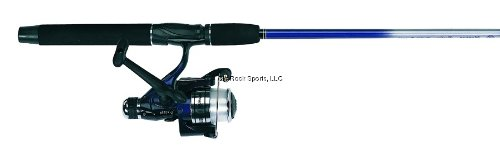 Hunter Roddy (Master Fishing Tackle Roddy 6 1/2'. 2pc. Medium Action Freshwater Spinning Combo, Blue)