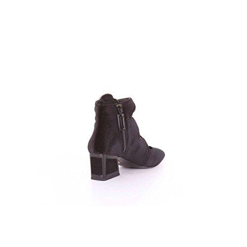 Mujer de Zapatos Negro UNA MACONIE tacón KAT qX8Aw