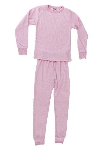 Just Love 95462-Pastel Pink-4 Thermal Underwear Set for Girls ()