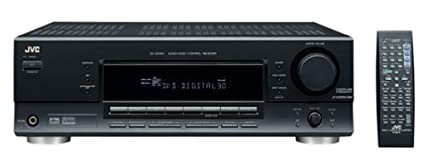 amazon com jvc rx 6030vbk receiver discontinued by manufacturer rh amazon com JVC Receiver AM FM HD Tuner JVC CD Stereo Dolby Digital