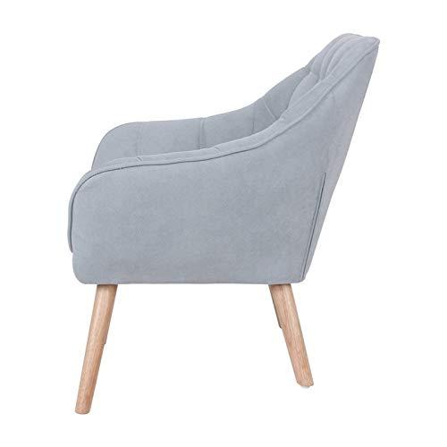Zons Sessel 127 x 75H77 cm grau