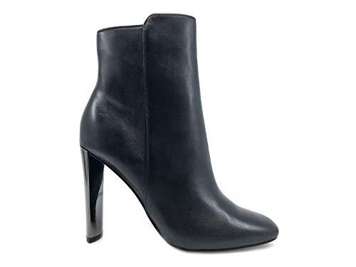 Donna Alto Guess Black Scarpe Flkiy4 In Nera Tacco Stivaletti Pelle TwwPgWqpO