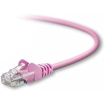 Belkin A3L791-07-PNK-S 7Feet 10/100BT CAT5 Patch Cable