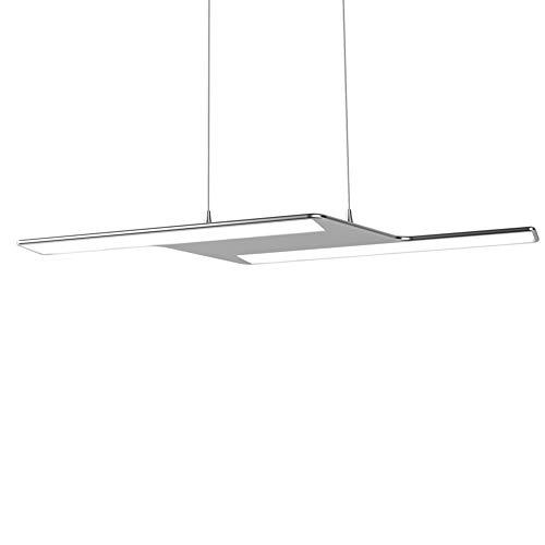 Ultra slim edge-lit design Mini Style Modern LED Pendant Lighting Ceiling Lamp Fixture for Bedroom,Dining Room,Kitchen,Living Room,Restaurant,Office,Foyer,study room, 20W Warm White ()