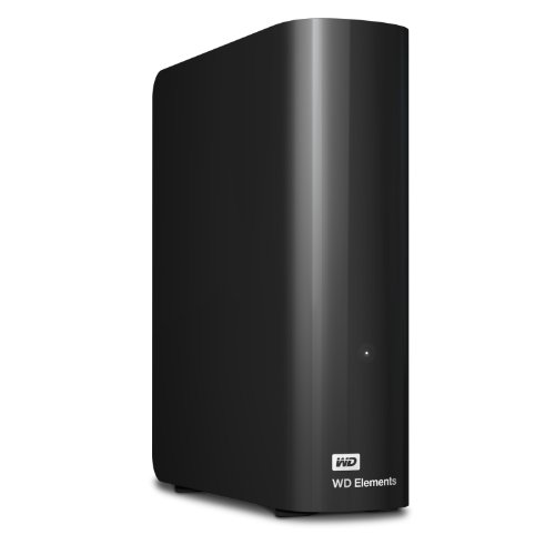 WD 4TB Elements Desktop Hard Drive - USB 3.0 - WDBWLG0040HBK-NESN (Wd 4tb Elements External Desktop Hard Disk Drive)
