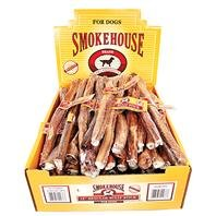 Smokehouse Bully Sticks Shelf Display Box 12in/60ct