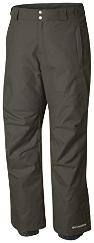 Columbia Men's Bugaboo II Pant, Waterproof and Breathable, Peatmoss, Large x Short