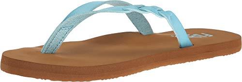 (Flojos Women's Serenity Sandals Aqua 7)