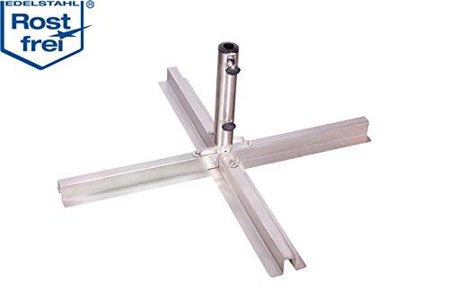Doppler-Metallplattenstnder-fr-WB-Platten-40x40-und-50x50-Rohr-25-48mm