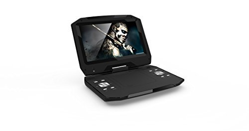 Maxmade BDPM1301 13.3 Portable Blu-ray/DVD Disc Player (Portable Dvd Player 13 Inch)