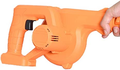 MSQL Compact Ventilateur 398VT sans Fil du Ventilateur à Vide électrique Air Feuille Duster avec Batterie Rechargeable au Lithium, Infiniment à Vitesse Variable