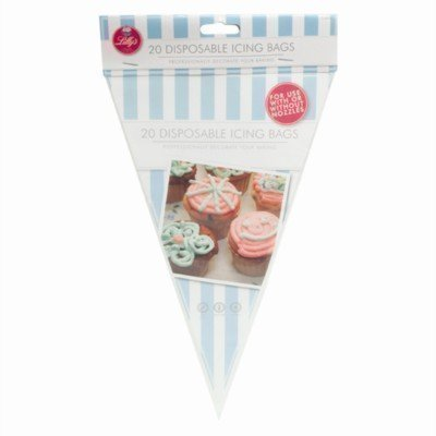 20 Disposable Icing Bags Cake Cupcake Piping Decorate Baking Sweet Party Bag The Home Fusion Company
