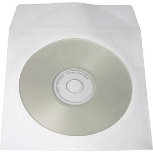 2,000 Paper CD Sleeves with Window & Flap